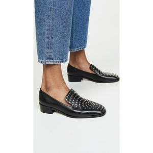 Rachel Comey Roma Flat Loafer in Black